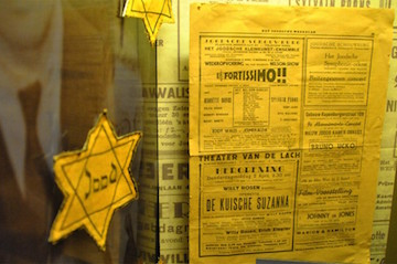 Display at Dutch Resistance Museum