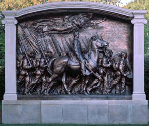 Memorial to the 54th Massachusetts Volunteer Infantry Regiment