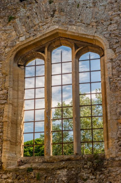 Godstow Abbey Window