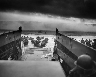 Glimpse of the Normandy Invasion