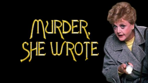 Angela Lansbury in the cozy mystery show Murder She Wrote