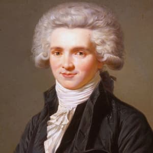 Maximilien de Robespierre, activist, lawyer, judge, and principal figure in the Reign of Terror