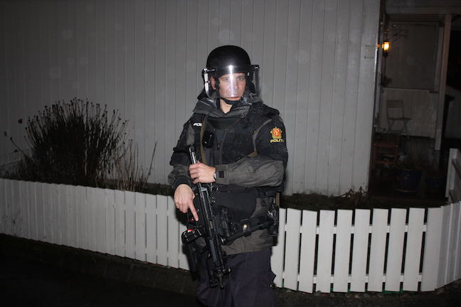 Norwegian Police Officer in 2011