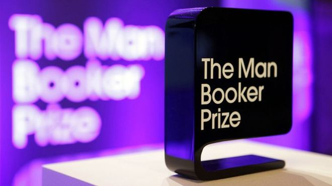 Man Booker prize trophy