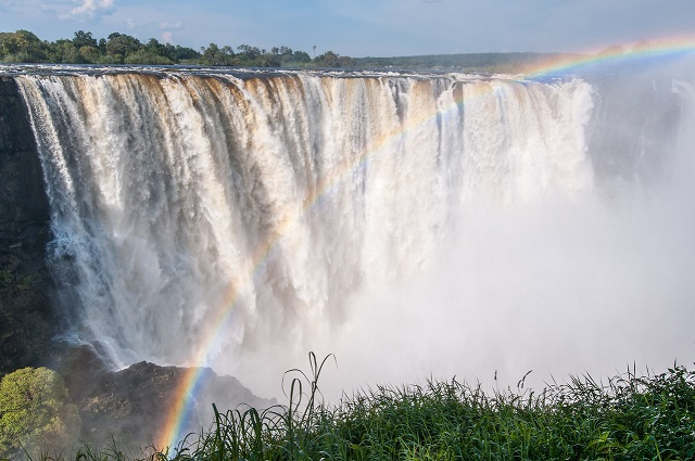 Victoria Falls on the Zambezi River