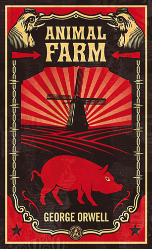 Animal Farm by George Orwell book cover