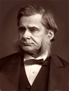 Biologist and anthropologist Thomas Huxley