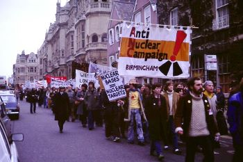 Protestors Against Nuclear Weapons