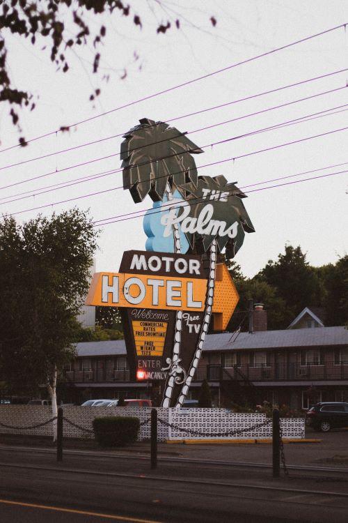 Palms Motel in Portland, Oregon