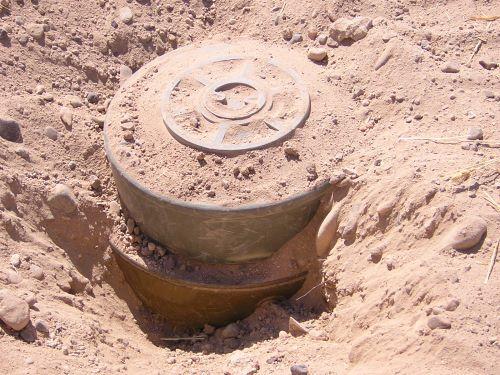 Landmine in Iraq