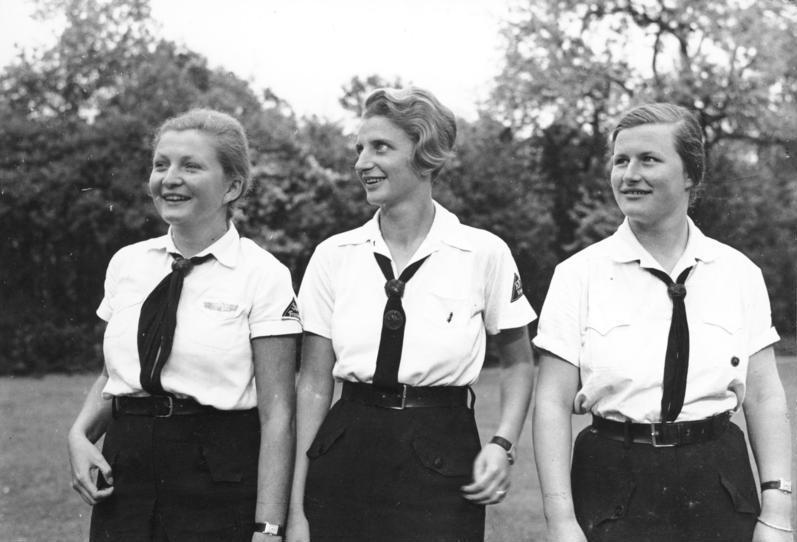 Members of the BDM, 1935