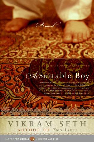 Cover of <i>A Suitable Boy</i> by Vikram Seth