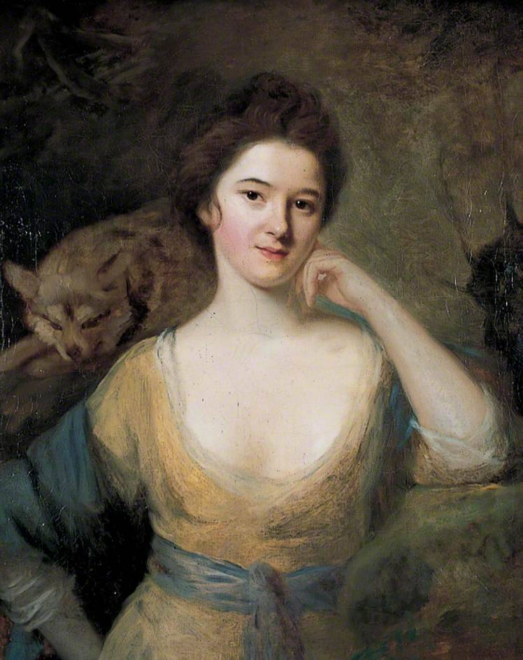 Kitty Fisher (1741-1767), one of 18th century London's best known courtesans