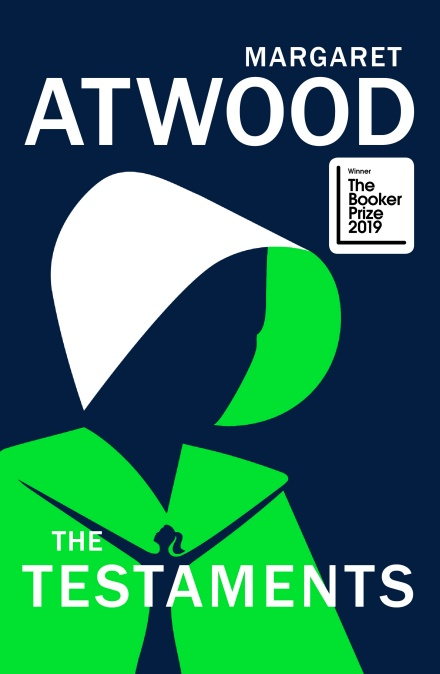 Cover of <i>The Testaments</i> by Margaret Atwood