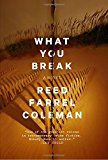 Book Jacket: What You Break