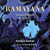 Book Jacket: Ramayana: An Illustrated Retelling