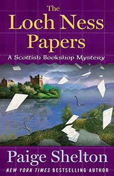 Book Jacket: The Loch Ness Papers (A Scottish Bookshop Mystery)