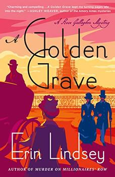Book Jacket: A Golden Grave: A Rose Gallagher Mystery