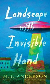 Book Jacket: Landscape with Invisible Hand