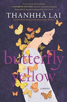 Book Jacket: Butterfly Yellow
