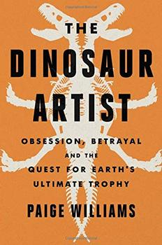 Book Jacket: The Dinosaur Artist