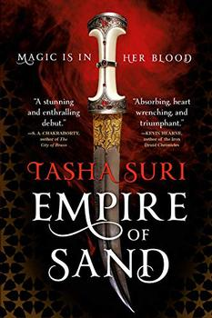 Book Jacket: Empire of Sand