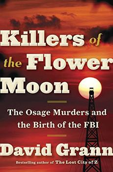 Book Jacket: Killers of the Flower Moon