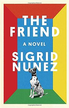 Book Jacket: The Friend