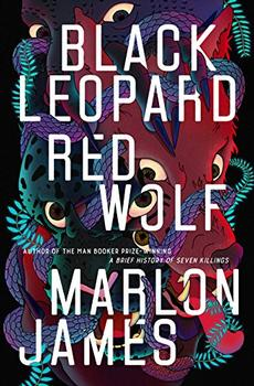 Book Jacket: Black Leopard, Red Wolf
