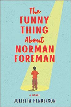 Book Jacket: The Funny Thing About Norman Foreman