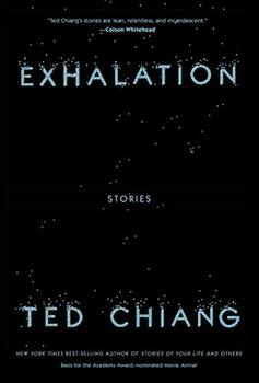 Book Jacket: Exhalation