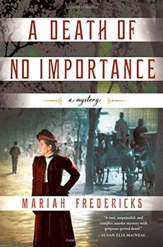 Book Jacket: A Death of No Importance