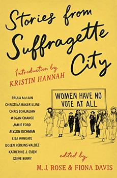 Book Jacket: Stories from Suffragette City