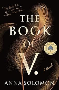 Book Jacket: The Book of V.