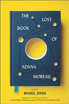 Book Jacket: The Lost Book of Adana Moreau