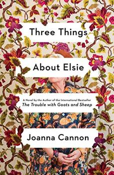 Book Jacket: Three Things About Elsie