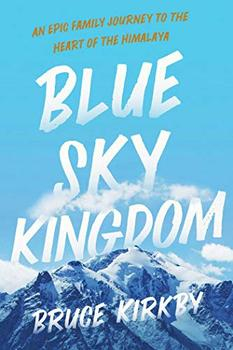 Book Jacket: Blue Sky Kingdom