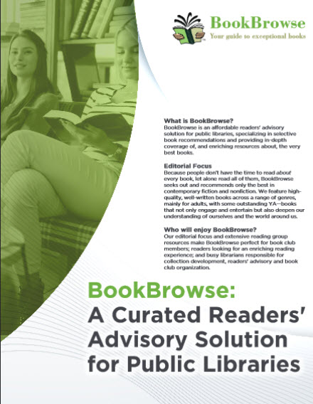 BookBrowse for Libraries Brochure