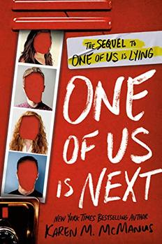 Book Jacket: One of Us Is Next