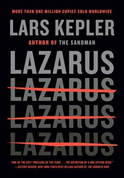 Lazarus book jacket