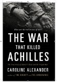 The War That Killed Achilles jacket