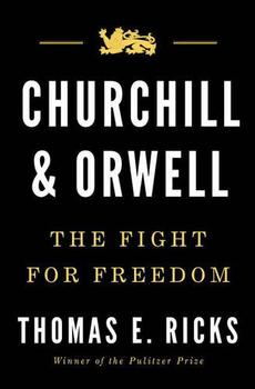 Churchill and Orwell jacket