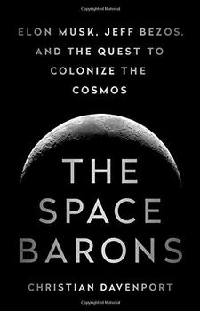 Book Jacket: The Space Barons