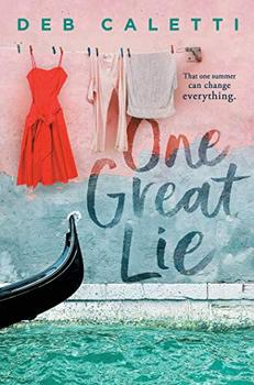 Book Jacket: One Great Lie